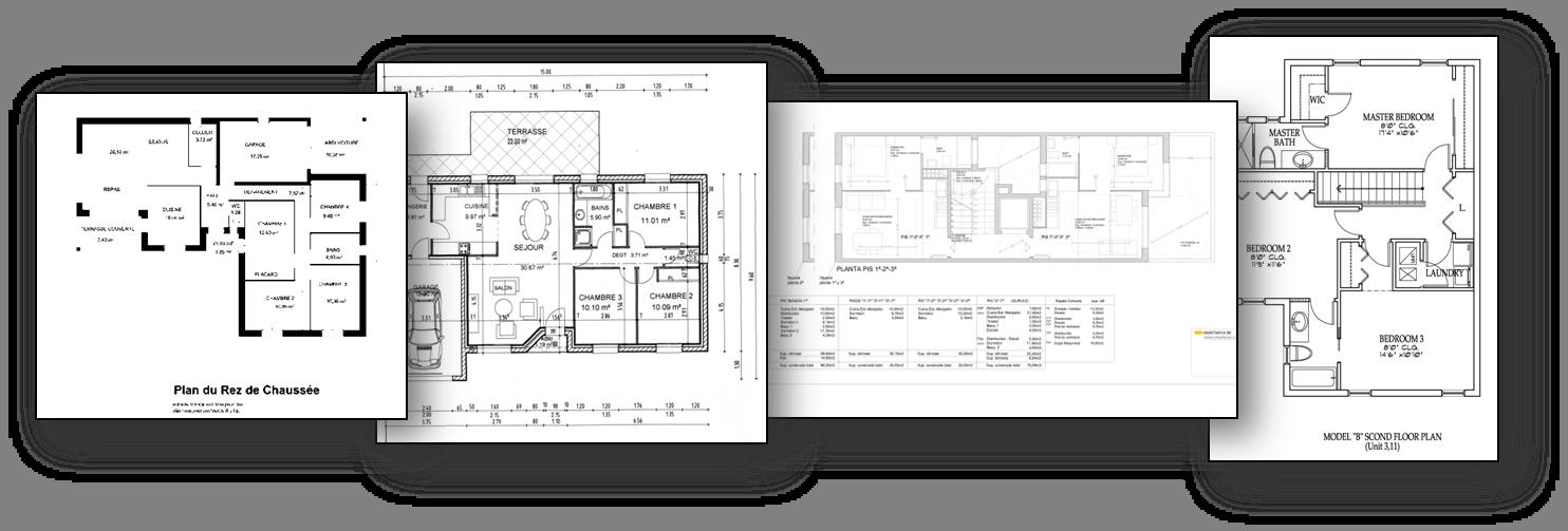 CVC-FP: Database for structural floor plan analysis
